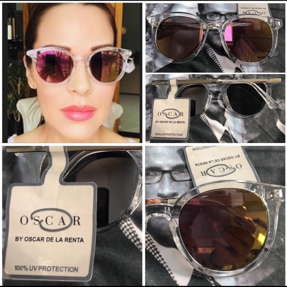 03b2f43865 Oscar de la Renta Accessories   Flash Mirror Sunglasses   Poshmark